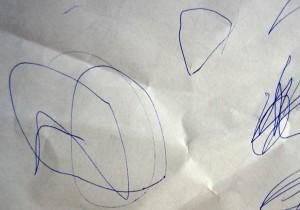 рисование с детьми 2 лет: кружки